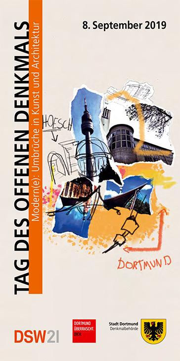 Broschüre Tag des Offenen Denkmals, Dortmund 2019