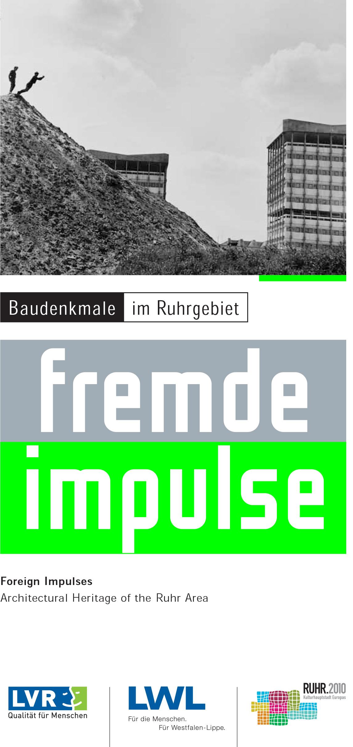 19 Titel Baudenkmale Ruhrgebiet