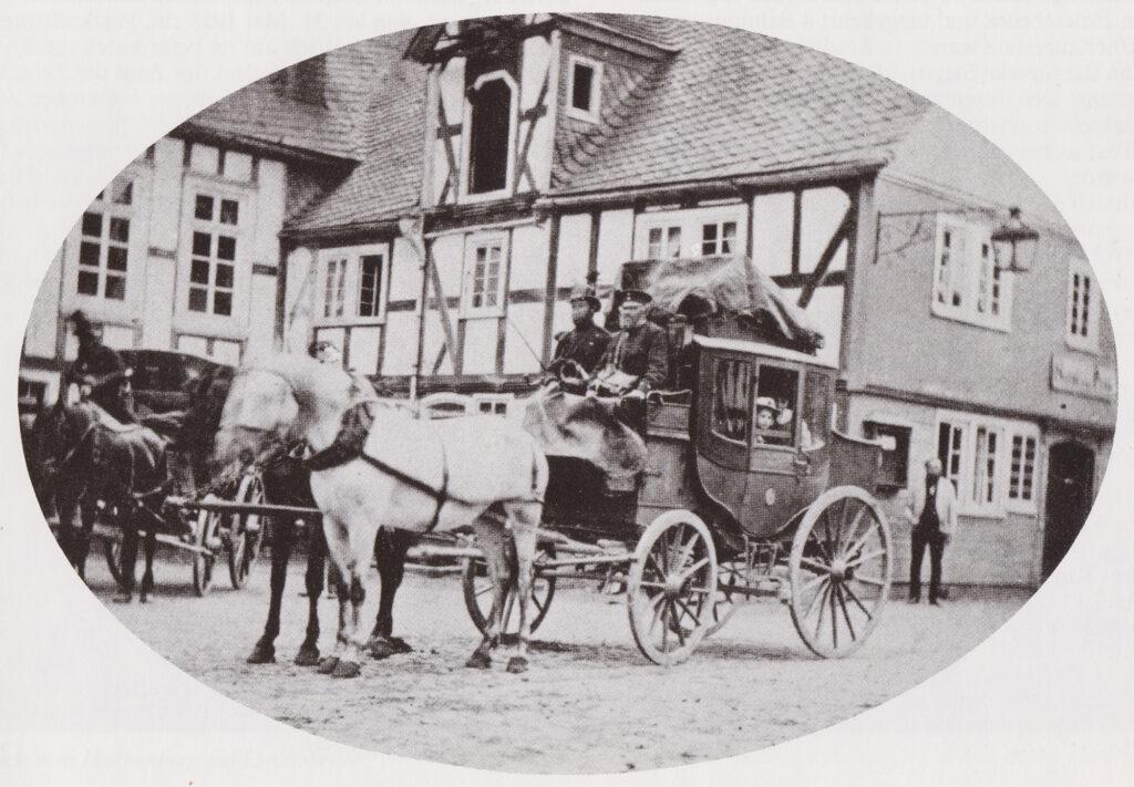 Die letzte Postkutsche in Hilchenbach