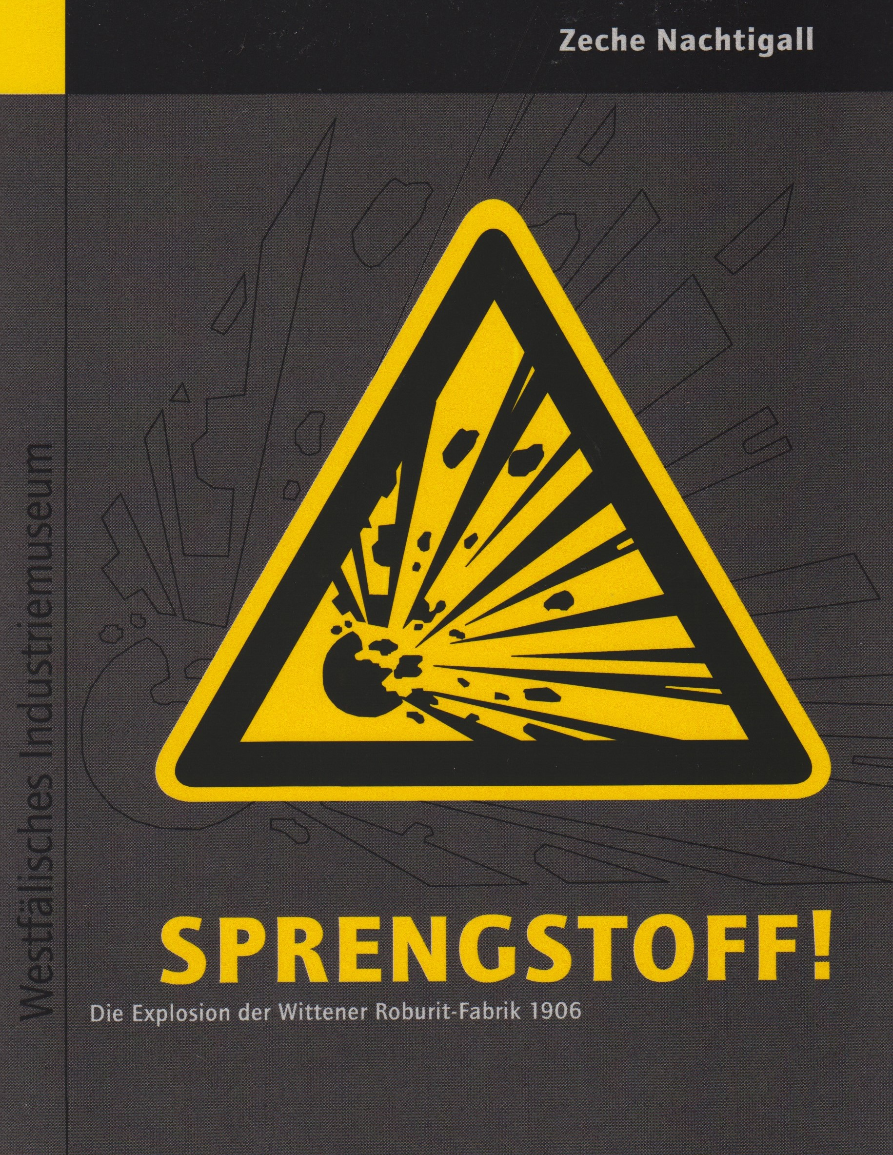 """Begleitbuch """"Explosion der Wittener_Roburit-Fabrik"""""""